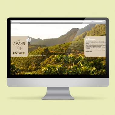 AMANN KAFFEE – Website