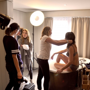 HUBER Bodywear – Making Of 2014/2015