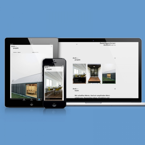 Arch–raum – Website
