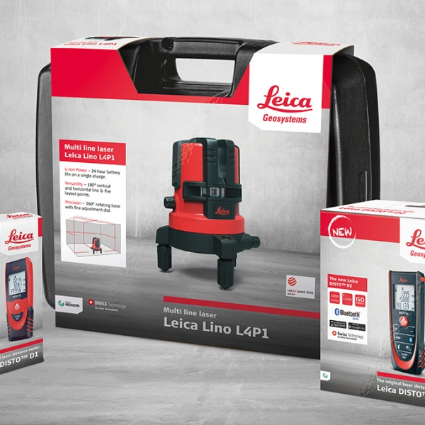 Leica Geosystems – Packaging Redesign